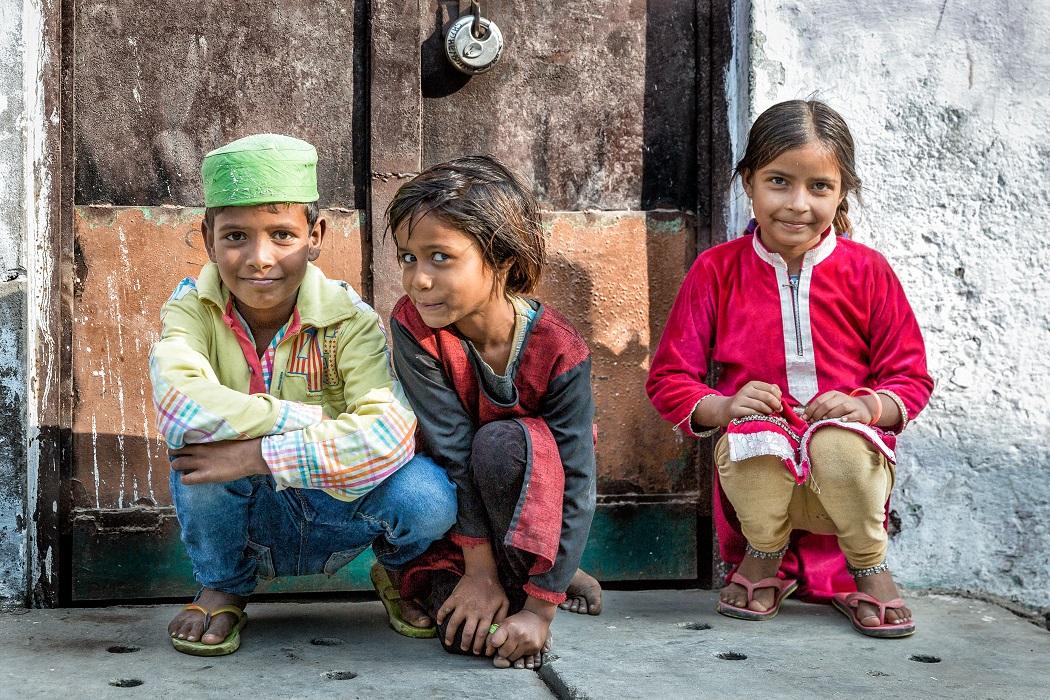 Rajasthani gyerekek